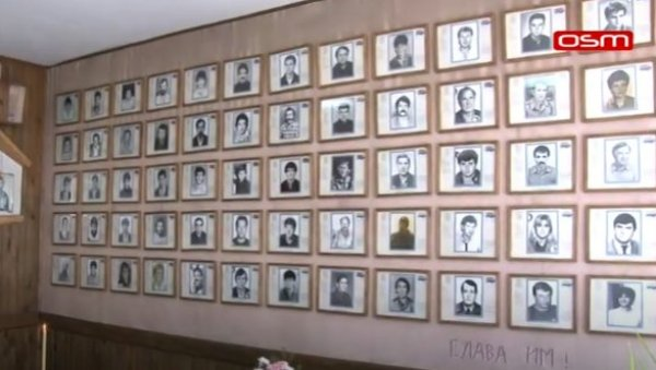 HOLY PLACE SANCTIFIED BY THE BLOOD OF SERBIAN SONS: Commemoration of 45 fighters killed in an ambush in Zepa (VIDEO)