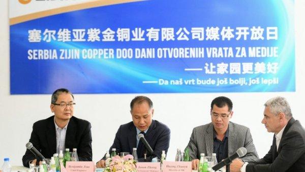 БОРАНИ ЋЕ ДИСАТИ ЧИСТ ВАЗДУХ ДОГОДИНЕ: Компанија Зиђин Копер после две и по године од уласка у Србију отворила врата јавности