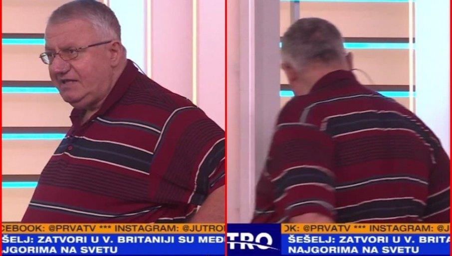 NAPETO U JUTARNJEM PROGRAMU: Šešelj napustio studio - Nemojte me više zvati u vašu emisiju! (FOTO)