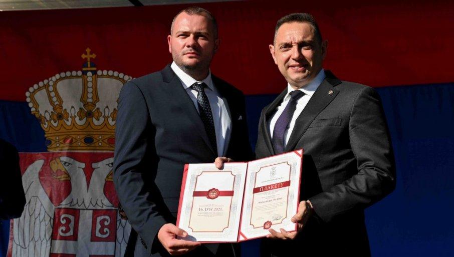 NAJVIŠE PRIZNANJE OPŠTINE IVANJICA: Ministru Vulinu uručena Junska nagrada