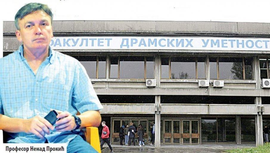 NEĆU VIŠE PREDAVATI: Prof. Nenad Prokić tvrdi da nije uznemiravao studentkinje, kaže da je u pitanju hajka