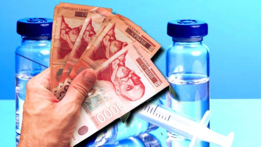 DANAS ISPLATA 3000 DINARA ZA VAKCINISANE: Juče su pomoć dobili penzioneri, do petka svi koji su se prijavili