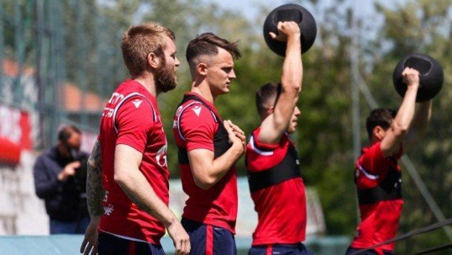 ŠAMPION UPALIO MOTORE: Fudbaleri Zvezde počeli pripreme za novu sezonu