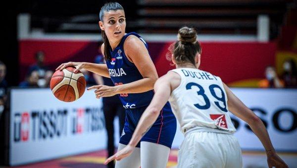 BASKETBALL: SERBIA - FRANCE, LIVE FINALS - Women, make us proud