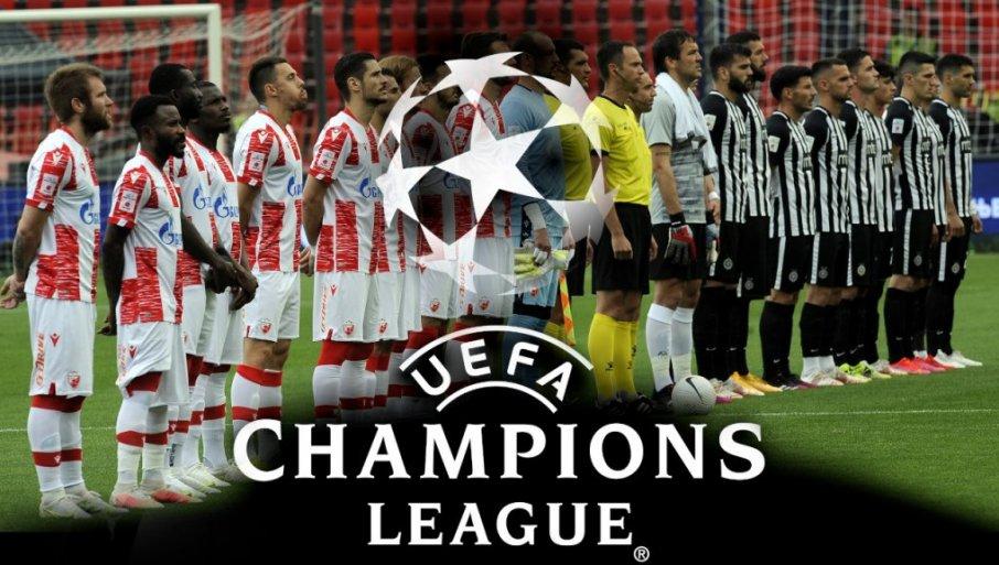 UEFA KOEFICIJENTI: Partizanov poraz skupo košta, stižu nas Belgijanci, Ukrajinci beže!