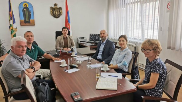 EASIER FOR THE RIGHTS FOR THE ECONOMY AND CITIZENS: Representatives of the Standing Conference of Towns and Municipalities in Lapovo
