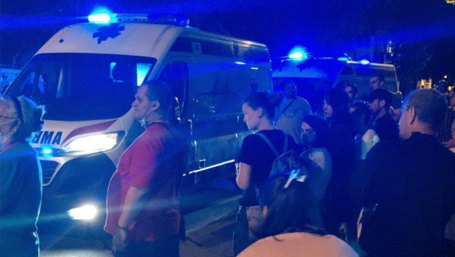 NA PROTESTU ZA TRAGIČNO NASTRADALOG STEFANA (9) PALILI SIRENE: Otkriveno da li će lekari Hitne pomoći biti kažnjeni