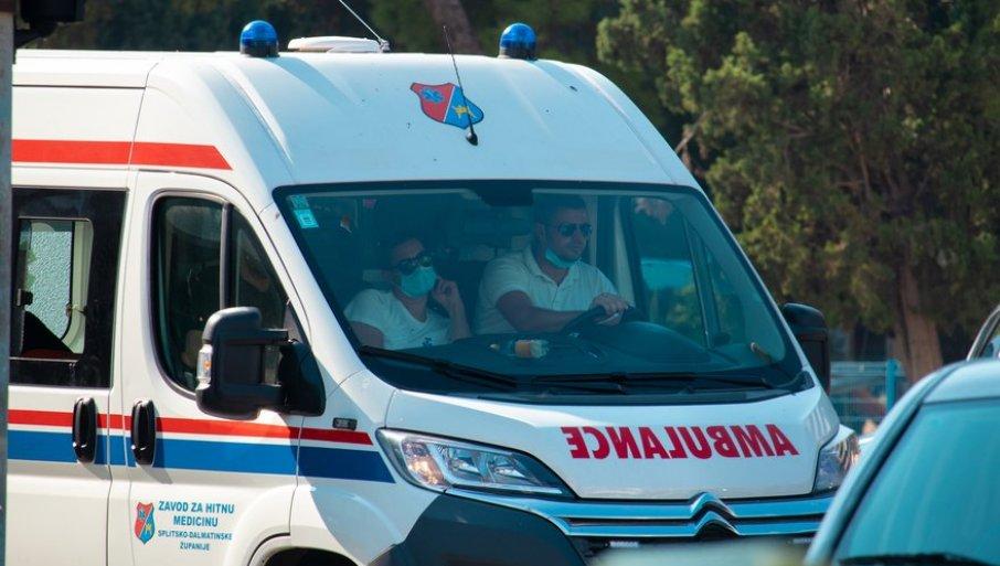 POGINULO TROJE MLADIH IZ SRBIJE: Teška saobraćajna nesreća u Hrvatskoj
