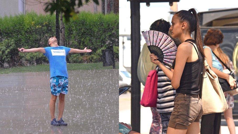NAJNOVIJA PROGNOZA DO KRAJA NEDELJE: Meteorolog Đurić najavio pljuskove sa grmljavinom, a za vikend još jedan preokret!