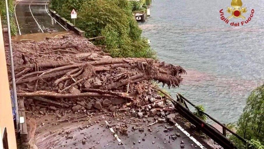 PAKLENA NEDELJA U ITALIJI: Poplave, požari, grad i odroni (FOTO, VIDEO)