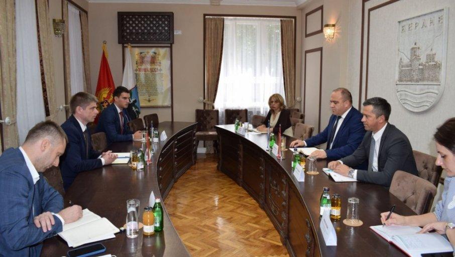 GUJON POSETIO BERANE: Sa predsednikom opštine razgovarao o položaju srpskog naroda
