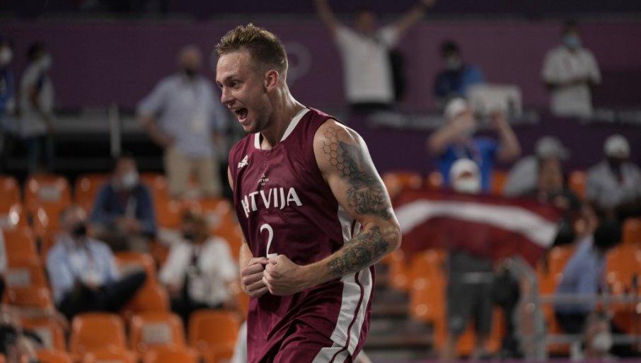 ISTORIJSKO ZLATO: Letonija olimpijski šampion u basketu