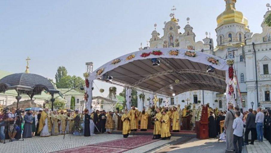 U LITIJI 300.000 VERNIKA: U Kijevu obeležene 1.033 godine od krštenja kijevske Rusije koju je utemeljio veliki knez Vladimir