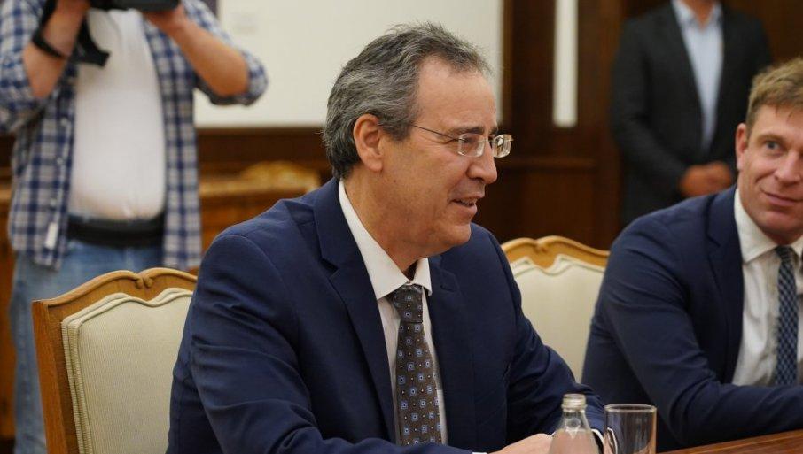 STABILNOST KLJUČNI CILJ, PUT U EU OSTAJE PRIORITET: Državni vrh Srbije sa državnim sekretarom nemačkog MSP Migelom Bergerom