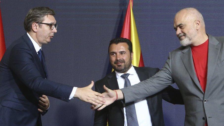 BALKAN KAO SIMBOL PRIJATELJSTVA: Zoran Zaev o inicijativi regionalne saradnje