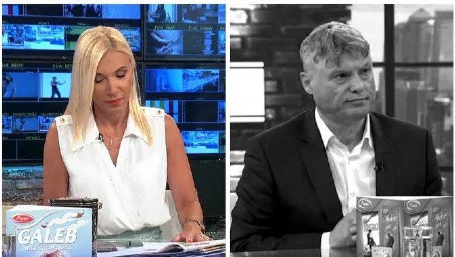 MUK U STUDIJU: Potrešena Irina kroz suze pročitala vest o smrti Lazanskog - Bio nam je ovde pre samo dve nedelje