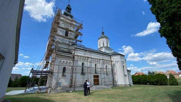 ОБНАВЉА СЕ СВЕТИЊА НЕЗАБОРАВА И ПРАШТАЊА: Почели радови у манастиру Јасеновац, недалеко од стратишта