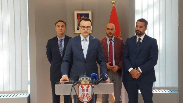 PETKOVIĆ U BRISELU: Ovde smo da se borimo za srpske interese, insistiramo na dijalogu