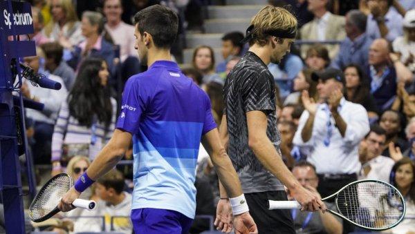NOVAK ĐOKOVIĆ - ALEKSANDAR ZVEREV, LIVE: Djokovic's break in the second set!