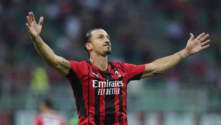 ZLATAN SPREMAN ZA SINIŠU: Ibrahimović počinje utakmicu protiv Bolonje