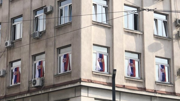 PREPARATIONS IN PROGRESS: See what the capital looks like before the celebration of the Day of Serbian Unity, Freedom and the National Flag (PHOTO)