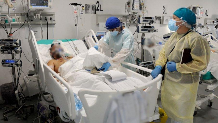 """LEKARI RADE I GUTAJU SUZE: """"Novosti"""" u kovid-bolnici u Batajnici - kreveti puni nevakcinisanih!"""