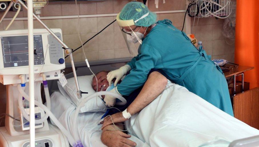 BOLNICE PUNE NEZAŠTIĆENIH: Dr Svorcan - Za noć smo primili 64 obolelih, 80 odsto nije imunizovano