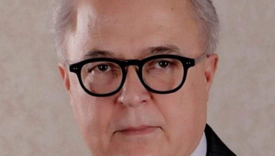 PREMINUO PROF. DR PETAR MITKOVIĆ: Posle borbe sa koronom napustio nas dekan GAF u Nišu