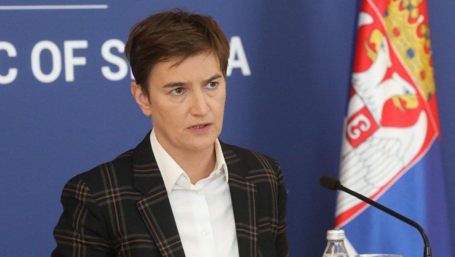ANA BRNABIĆ: Imam utisak da deo medija u vlasništvu Dragana Đilasa živi u paralelnoj stvarnosti