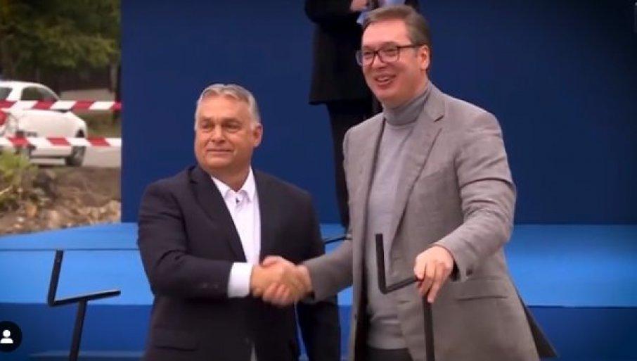 ZAJEDNO SMO MNOGOSTRUKO JAČI: Predsednik Vučić objavio video sa važnom porukom za Srbiju i Mađarsku (VIDEO)