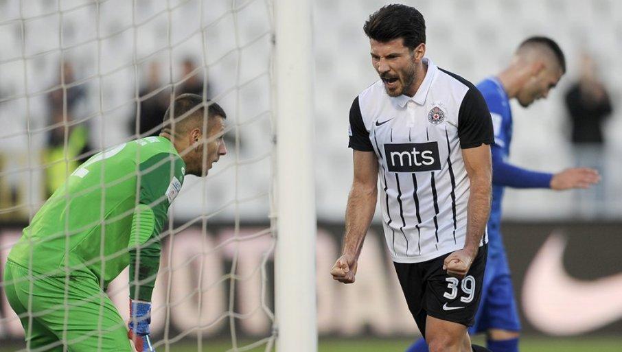 JOJIĆEV JUBILARAC: Fudbaler Partizana protiv Genta će stoti put obući crno-beli dres