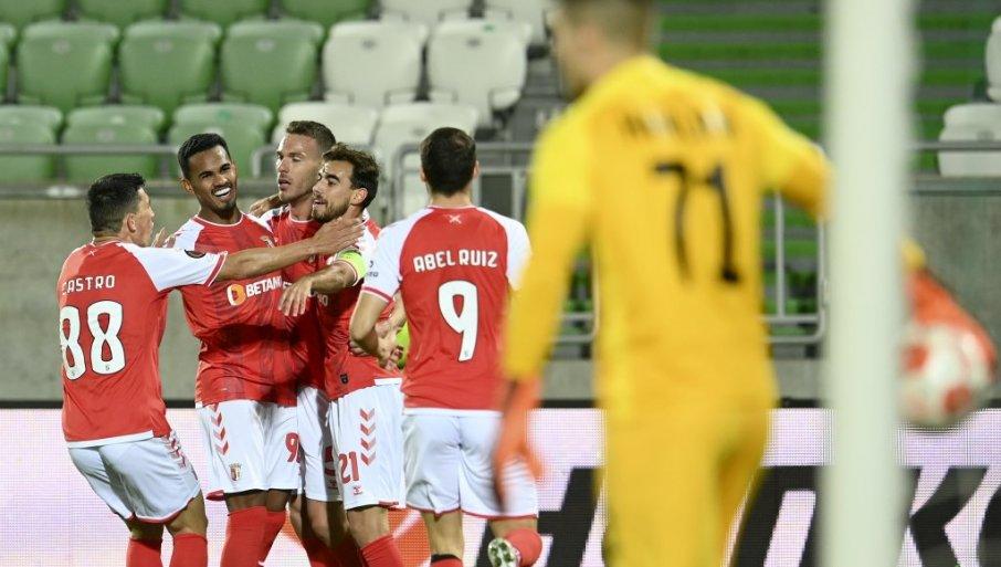 BRAGA SLAVI ORTU: Portuglaski klub slavio u Bugarskoj i diše Zvezdi za vratom
