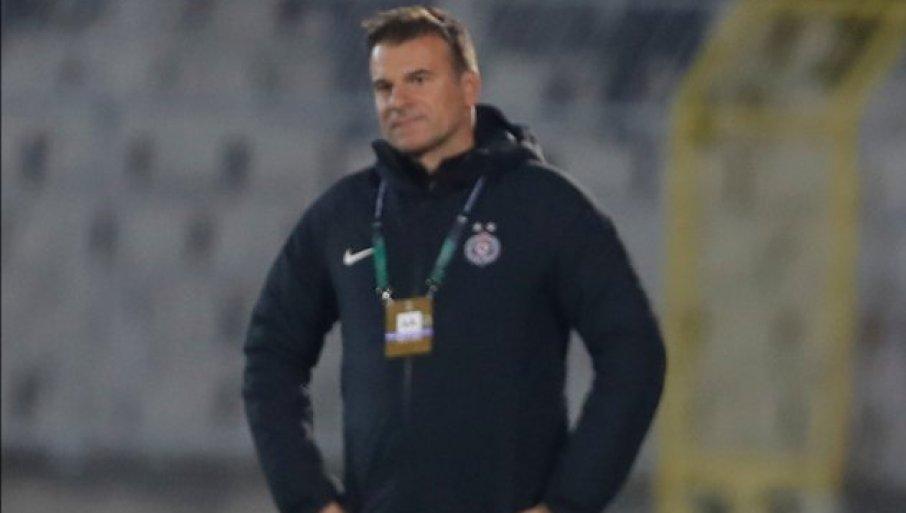 STANOJEVIĆ ZARADIO CRVENI KARTON POSLE UTAKMICE: Trener Partizana neće moći da vodi ekipu u Belgiji