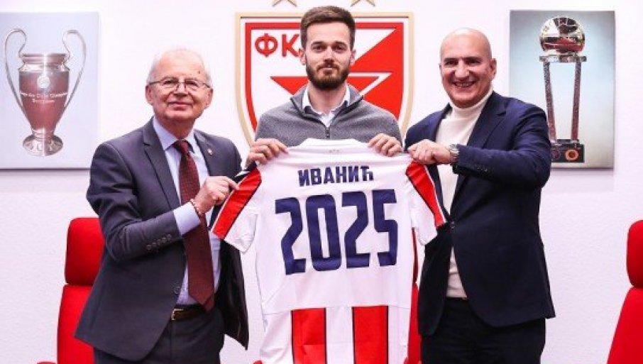 ZVEZDA URADILA VAŽAN POSAO: Mirko Ivanić produžio ugovor do 2025!