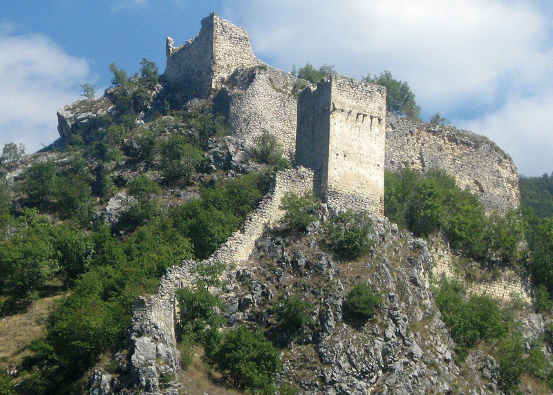 Srednjovekovno utvrđenje u kanjonu Mileševke