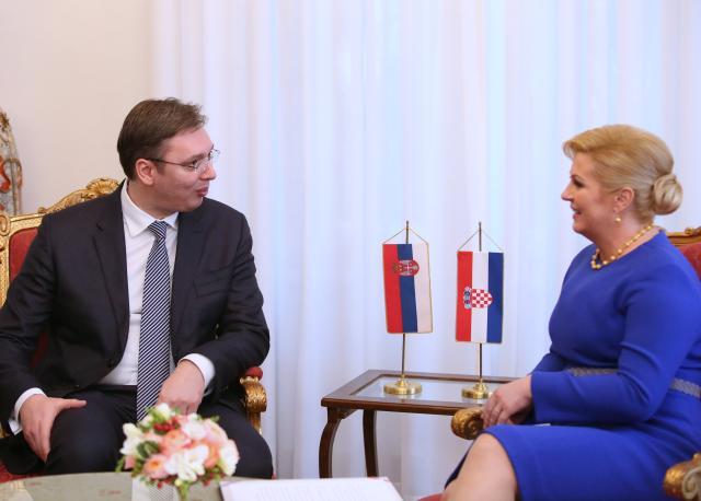 Image result for vučić hrvatska