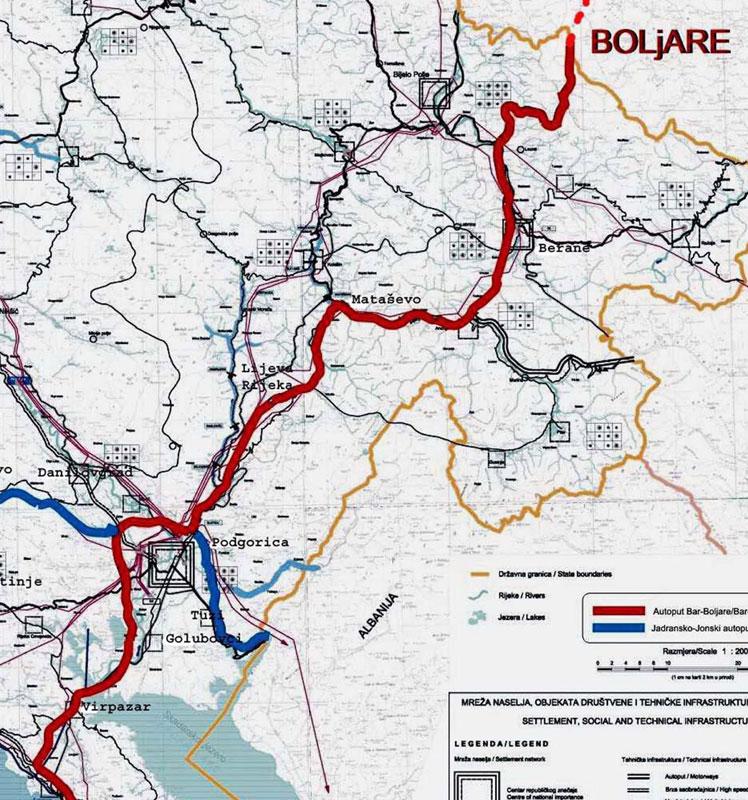 autoput beograd bar mapa CG: Trake auto puta već skuplje! | Region | Novosti.rs autoput beograd bar mapa