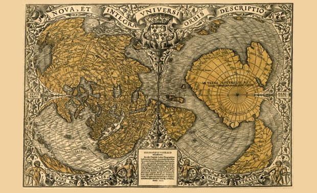 Mapa Stara 500 Godina Koja Negira Zvanicnu Istoriju Ljudske Rase