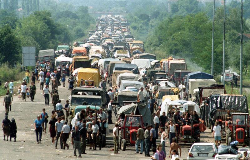 У Хрватској славе масовно убијање и егзодус цивила