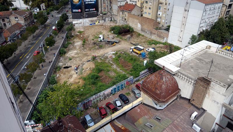 ulica kralja milutina beograd mapa Beograd: