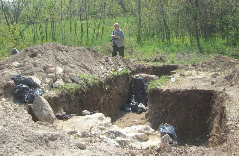 Ископавања на локалитету познатом под именом Дворине