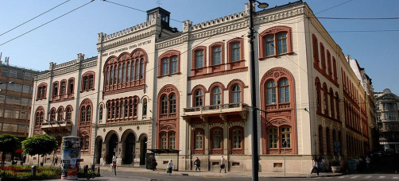 Здање грађено за дворац постало центар Универзитета