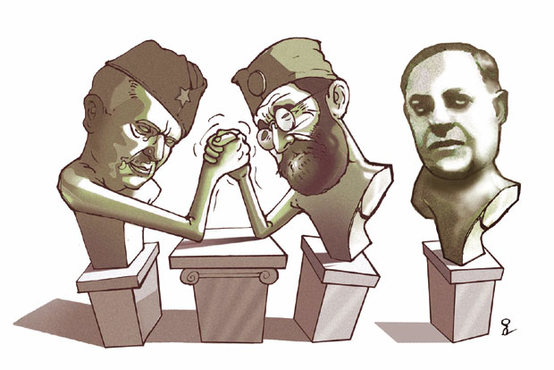 Карикатура Горана Дивца