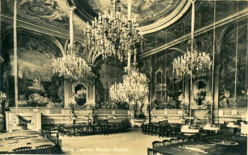 Изглед некадашњег казина у Баден Бадену