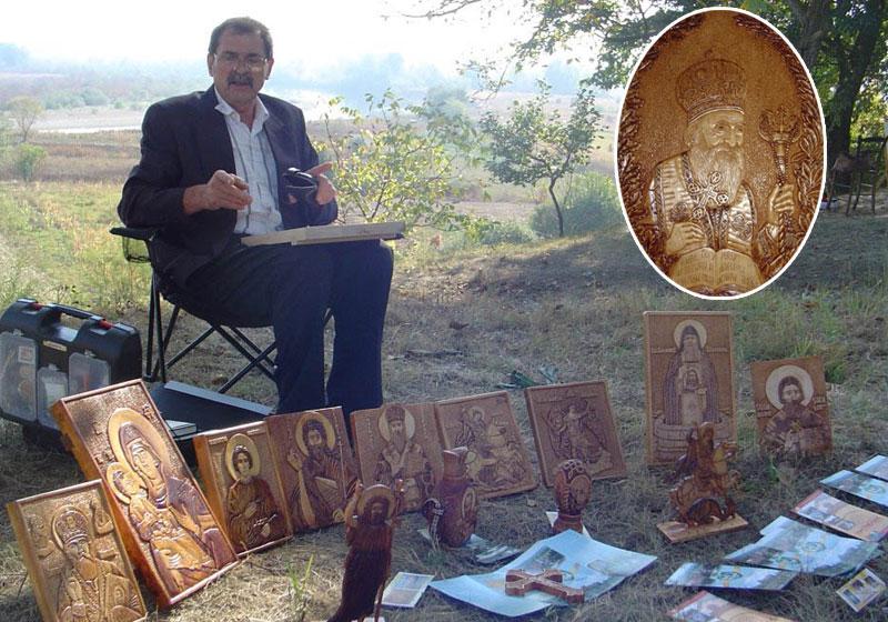 Мирча Пантелић је нашао себи вредно занимање, Лик патријарха Павла
