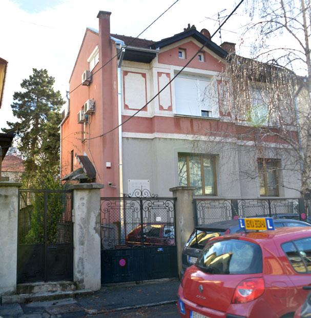 Кућа у београдској Професорској колонији у којој је живео МиланковићФото В. Данилов