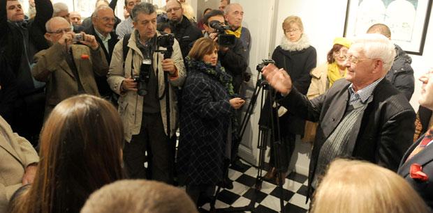 Многобројна публика синоћ у Кући краља Петра / Фото М. Анђела