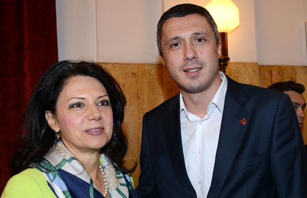 Санда Рашковић Ивић и Бошко Обрадовић
