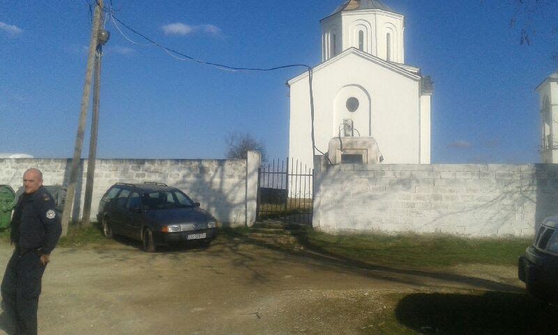 Цркву сада чува косовска полиција