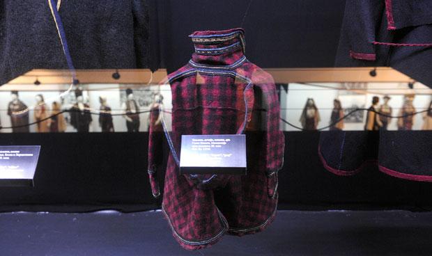 Сукнени хаљеци у Етнографском музеју,фото А.Станковић
